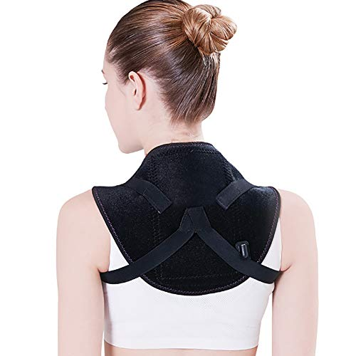 QIYU Elektrisch Heizkissen für Rücken Schulter Nacken, Nacken/Schulter Heizkissen, Exklusive Wärme bis hoch in den Nacken