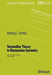 Teichmüller Theory In Riemannian Geometry (Lectures In Mathematics. Eth Zurich)