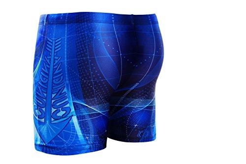 Demarkt Summer Homme Shorts De Bain Boy's Maillot De Bain Beach Surf Swimwear Sport de Plein Air Taille Asiatique Bleu34