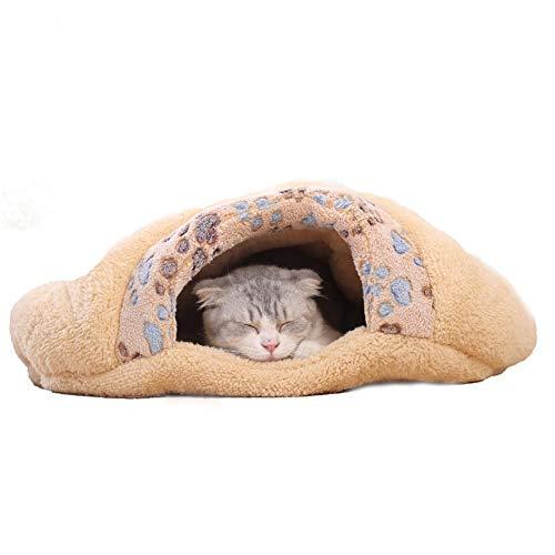 Geschlossenes Katzennest Katzenschlafsack , Weiches KatzenkissenKatzenschlafsack , Katzenstreu vier Jahreszeiten Universal Katzenbedarf (größe : M) - Alte Welt-stil Möbel