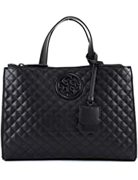 GUESS G Lux Status Satchel Black