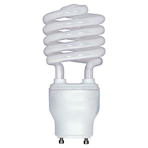 Satco S8207 26 Watt (120 Watt) 1750 Lumen Mini Spirale CFL warmweiß 2700 K GU24 Sockel Kompaktleuchtstofflampe 12 Stück -