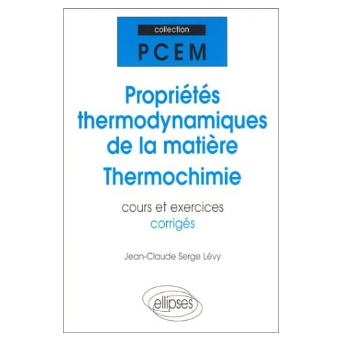 cours thermochimie pdf