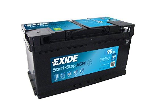 Exide - Autobatterie EK950 12V 95Ah 850A