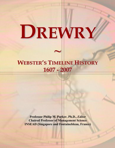 drewry-websters-timeline-history-1607-2007