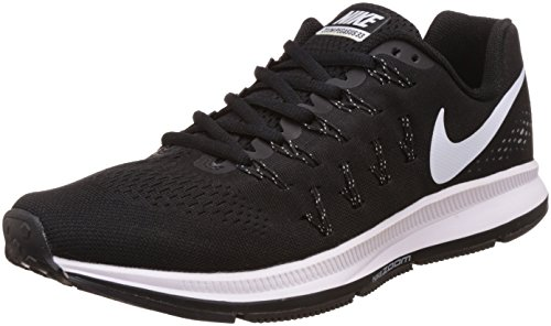 Nike Men's Air Zoom Pegasus 33 Black and White Running Shoes - 7.5 UK/India (42 EU)(8.5 US)(831325-402)  available at amazon for Rs.3425