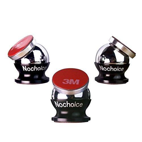 Nochoice® Auto Handy KFZ Handyhalter Handy Halter für Auto/Schreibtisch Magnet Auto Halter für iPhone 6/ 6/ 5S/ 4s Samsung Galaxy S3/ 4/ 5 /6 HTC Smartphone (3+3+6)