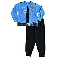 ThePyjamaFactory Policeman Pyjamas Fancy Dress Police Pyjamas 2 3 4 5 Years Fireman