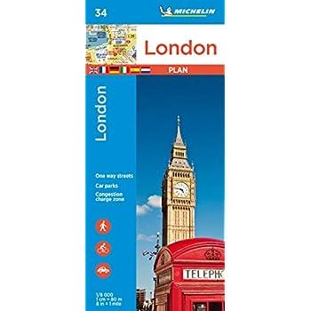 Plan de ville Londres Michelin