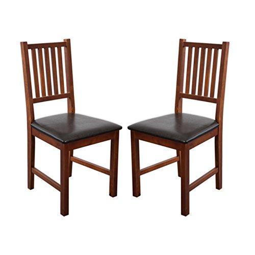 Esszimmerstühle Lucca (Nussbaum, 2 x Stühle)