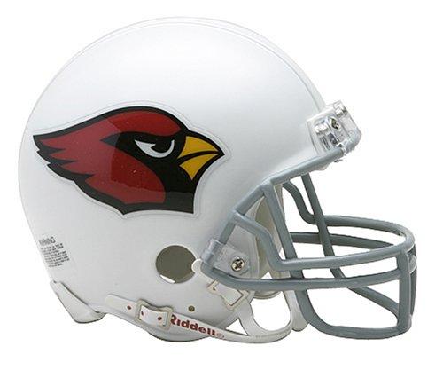 NFL Riddell Football Mini-Helm Arizona Cardinals (Nfl Trikot Fitzgerald)