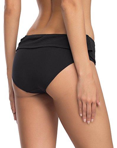 Merry Style Damen Bikinislip Modell ST2FF3 Schwarz