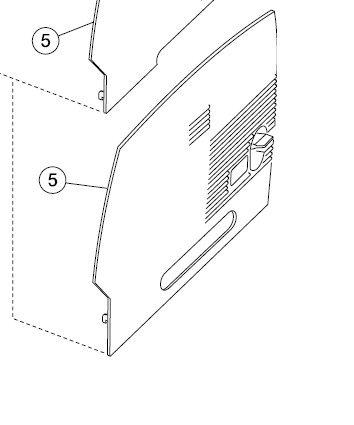 Lexmark 40X0007 - OPTRA T640 RHS 250 Cover - Lexmark Laptops