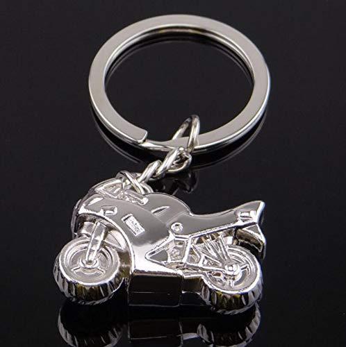 Neuheit beste Charm Anhänger Geschenk Retro-Motorrad geformte Schlüsselbund Schlüsselbund kreatives Geschenk -
