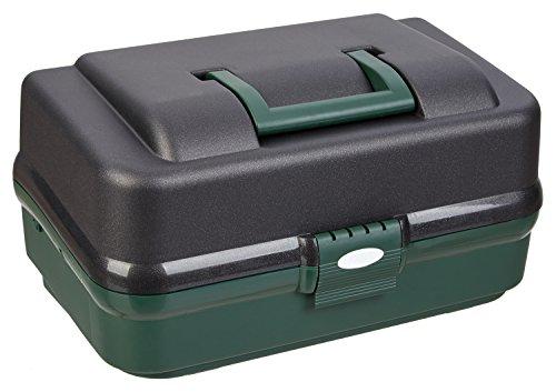 Gerätekasten Anglerkasten für Zubehör 3-ladig (Small Fishing Tackle Box)
