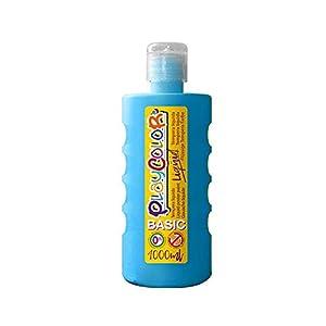 PlayColor Gouache líquido Pintura 19561, Azul Claro