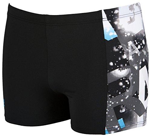 Arena Satellites Men's short de bain noir - Noir/turquoise
