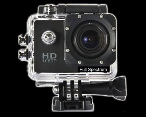 NPC-IPS FULL SPECTRUM HD GHOST HUNTING CAMERA - MODIFIED BASIC VERSION ( ship in 15-20 days)