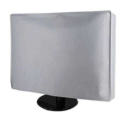 Lucky Family Bildschirm Staubschutz-Hülle, Maßgenaue Staubschutzhülle Für Monitor Computer Cover Case Geeignet Für 21 Zoll, 24 Zoll, 28 Zoll, 34 Zoll