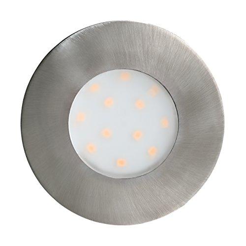 EGLOღ Spot Extérieur 6 W Nickel Satiné
