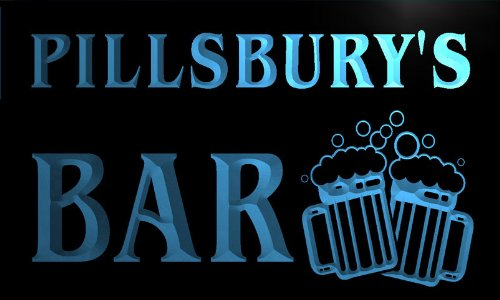 cartel-luminoso-w013180-b-pillsbury-name-home-bar-pub-beer-mugs-cheers-neon-light-sign