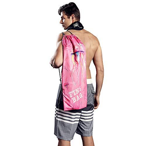 Hiturbo Flossentasche Tauchen Ausrüstung Tasche-Tauchtasche Schnorchel-Ausrüstung Kordelzug Tasche 74x35cm