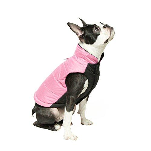 GOOBY Winter Wind Breaker Parka für kleine Hunde (Inter Breaker)