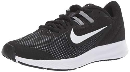 Nike Downshifter 9 (GS), Scarpe da Atletica Leggera Unisex-Adulto, Nero (Black/White/Anthracite/Cool Grey 000), 40 EU