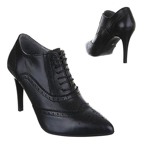 Ital-Design , Bottines femme Noir - Noir