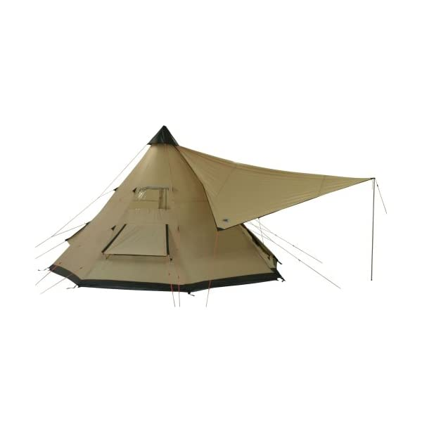 10T Outdoor Equipment Waterproof Shoshone 500 Unisex Outdoor Teepee Tent available in Beige  - 10 Persons 7