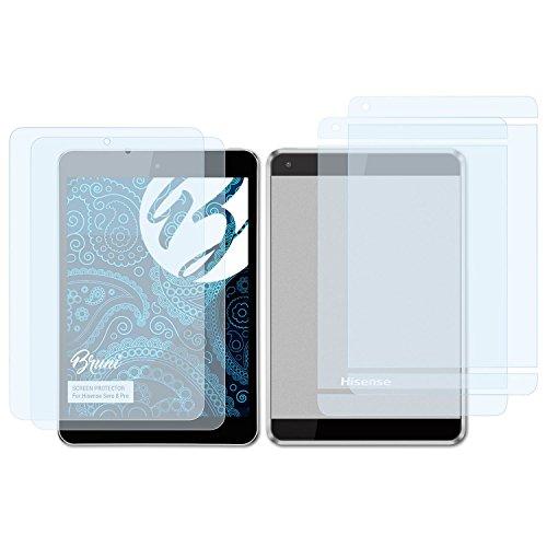 Bruni Schutzfolie für Hisense Sero 8 Pro Folie, glasklare Bildschirmschutzfolie (2er Set)