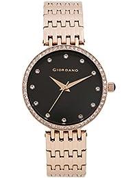 Giordano Analog Black Dial Women's Watch - A2045-11