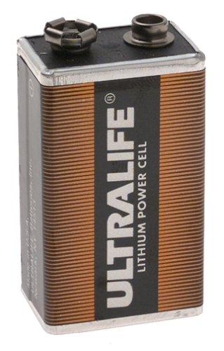Monacor Lithium Pp3 1 2ah 9v Smoke Detector Pir Battery New Buy
