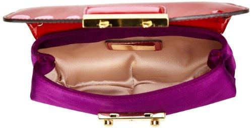 Sebastian Kleine Tasche mit ganzem Riemen, Rot, Borsa a spalla donna Rosso (Rot (Red))