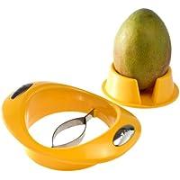 G S D Haushaltsgeräte 33 027 Mangoschneider mit Fruchthalter