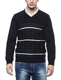 Proline Mens V Neck Check Sweater