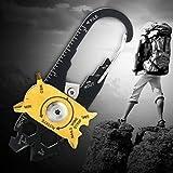 20in 1Edelstahl Schraubendreher Schlüssel Öffner Schlüsselanhänger EDC Tasche Multi Werkzeuge