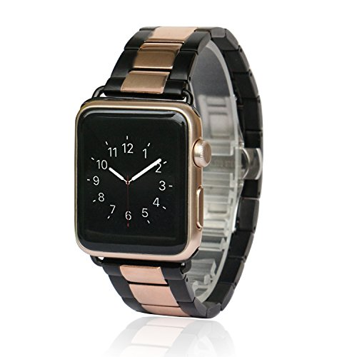 Apple-Watch-Band-AWStech-38mm-Stainless-Steel-Replacement-Smart-Watch-Band-Wrist-Strap-Bracelet-with-Butterfly-Buckle-C