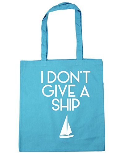 hippowarehouse-i-dont-give-a-ship-tote-shopping-gym-beach-bag-42cm-x38cm-10-litres