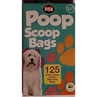 250 Poop Scoop Bags/2 Packs of 125 41N1VqXzi8L