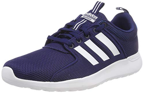 sports shoes 28682 7e9f8 adidas Herren Cloudfoam Lite Racer Gymnastikschuhe Blau (Dark FTWR  White Bright Blue),