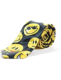 New Emoticons Smiley Skinny Tie