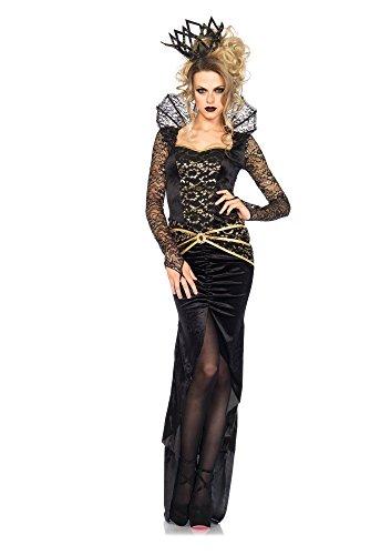 Leg Avenue 85462 - Deluxe Evil Queen Kostüm, -