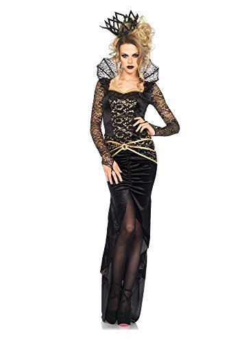 Leg Avenue 85462 - Deluxe Evil Queen Kostüm, Größe Small (EUR 36)