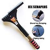 Best Ice Scrapers - LJNH Premium Ice Scraper with Soft Grip Heavy-duty Review