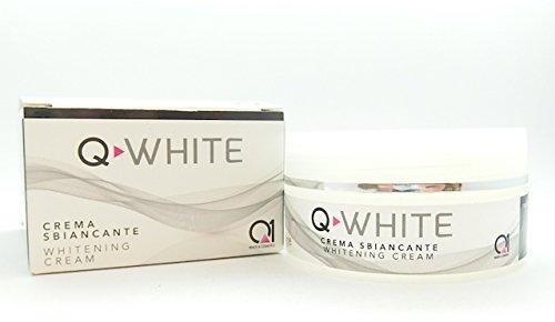 Q-WHITE aufhellendes und bleichendes Cremegel gegen Hautflecken unterschiedlichen Ursprungs (Hyperchromie, Hyperpigmentierung, Melasma,...