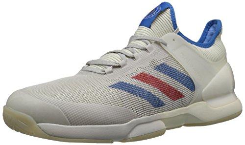 Preisvergleich Produktbild adidasBB6892 - Adizero Ubersonic 50yrs Ltd Herren,  Weiá (Legacy / Signal Blue / Grey One),  47 EU D(M)