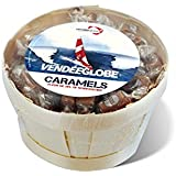 Bourriche garnie de Caramels à la Fleur de sel de Noirmoutier 600g