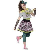 80 selvaggio Costume bambino per le donne Set