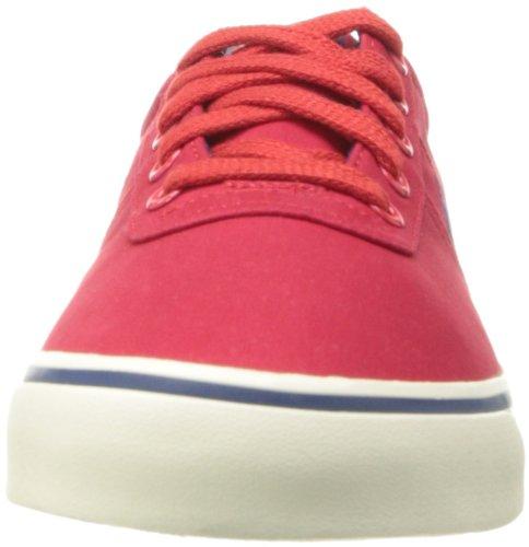 Polo Ralph Lauren Hanford Canvas Fashion Sneaker Red/Fall Royal